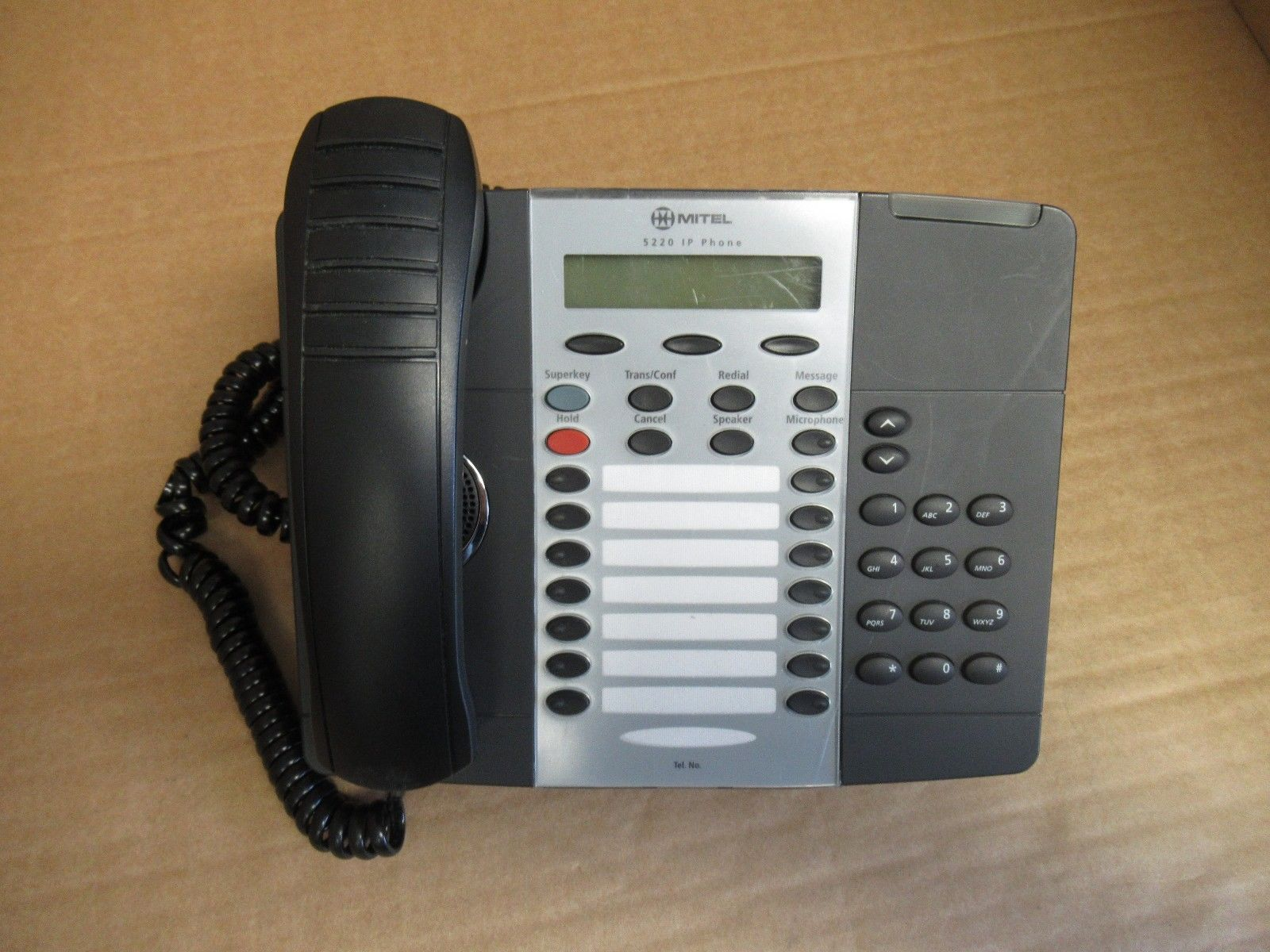 5220 IP VoIP 24 Multi key Dual Mode Enterprise Phone with Stand
